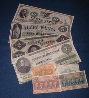 Civil War Money